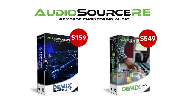 AudioSourceRE  DeMIX update JAN 2021