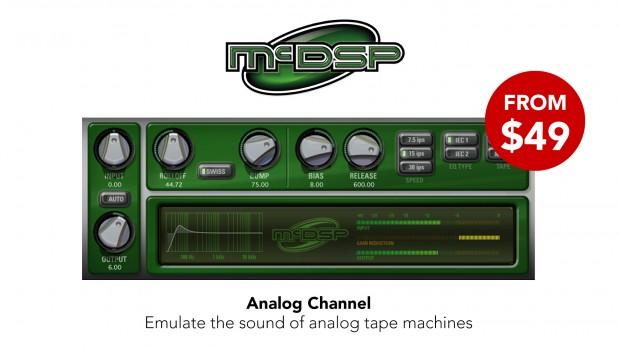 McDSP Analog Channel MixTip promo JAN 2021