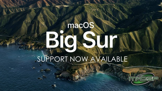McDSP-Big Sur-Support-JAN-2021