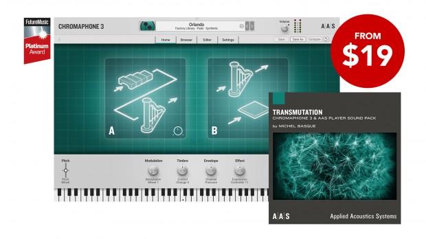 AAS Chromaphone 3 Transmutation promo FEB 2021