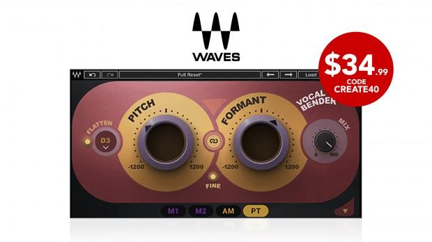 Waves Vocal Bender - FEB2021