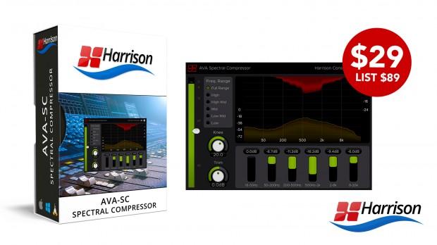 Harrison AVA Spectral Compressor MARCH 2021