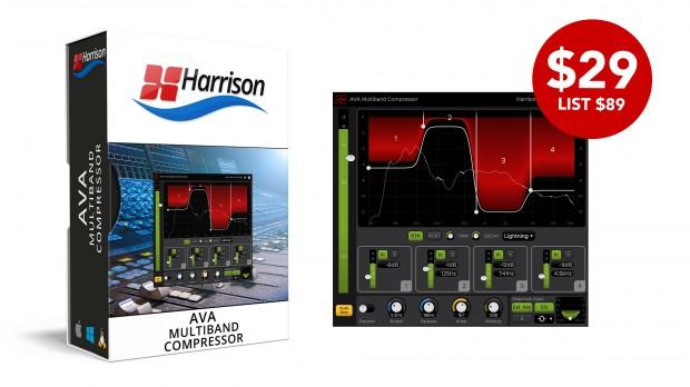 Harrison AVA Multiband Compressor Avril 2021