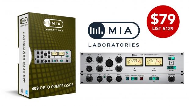 MIA Labs 409 Opto Compressor APRIL2021