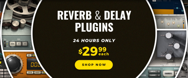 Waves Reverbs & Delays Sale