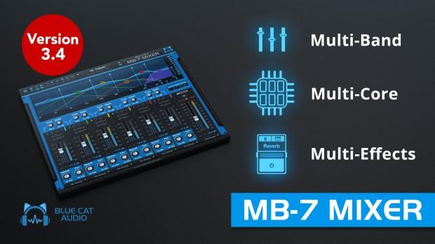 Blue Cat MB-7 Mixer Update promo MAY2021