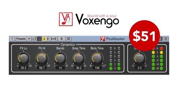 Voxengo Peakbuster JUNE2021
