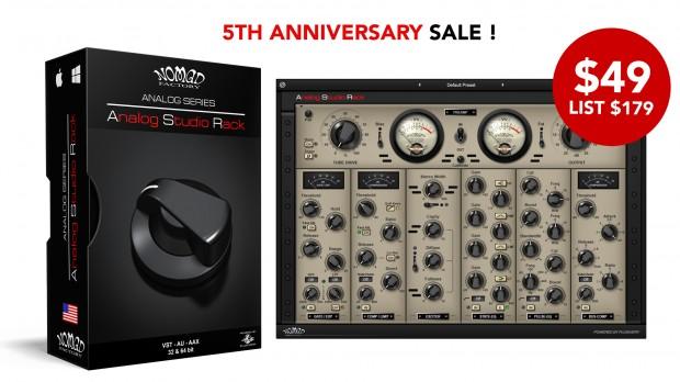 NOMAD Analog Studio Rack Anniversary AUG2021