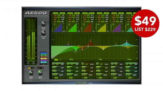 McDSP AE600 Active EQ Native v6 SEPT2021